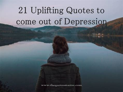 uplifting quotes     depression
