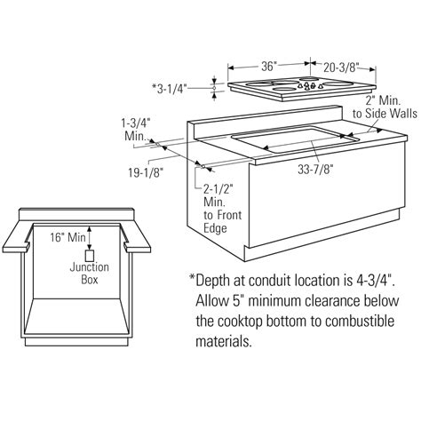 cooktop cutout dimensions gnosislivreorg