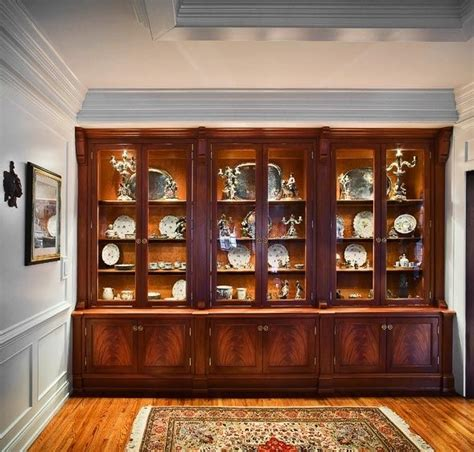 farmhouse china cabinet plans custom made traditional china cabinet by cabinetmaker