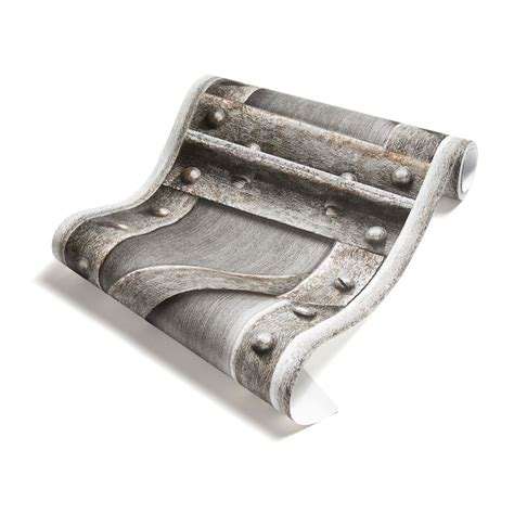 papier peint poutre m 233 tallique 224 treillis acier bross 233