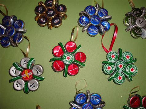 bottle cap christmas ornaments 171 the yule log 365