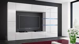 Medienwand Weiss Hochglanz : kaufexpert wohnwand shadow wei hochglanz 285 cm mediawand anbauwand medienwand design modern ~ Indierocktalk.com Haus und Dekorationen