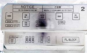Car Diary Yeah  Fuse Box And Relays  Engine Bay  Corolla Ae101
