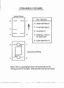 Lighted Rocker Switch Wiring Diagram 120v