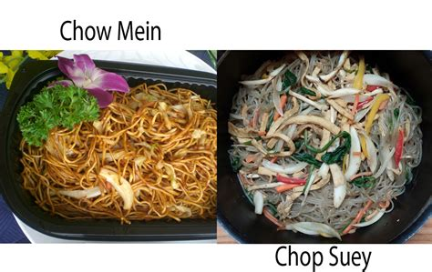 what is the difference between chow mein and lo mein chow mein vs chop suey thosefoods com