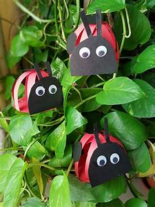 Easy, Paper, Grouchy, Ladybugs, Crafts