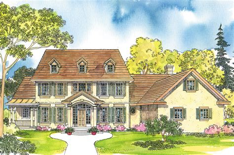 colonial house plans palmary    designs