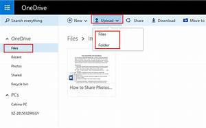 Use onedrive to backup files in computer android for Upload documents discover