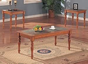 The most common country coffee table material is cotton. Amazon.com: 3PCS Country Style Coffee & End Table Set w/Slate Tile Top: Kitchen & Dining