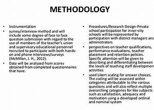 Research Methodology Proposal Example Product Evaluation Essay