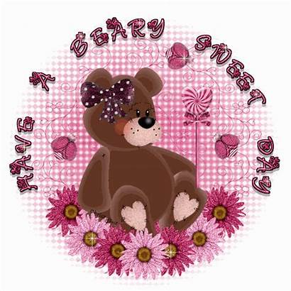 Sweet Beary Glitter Graphics Desicomments Bears Send