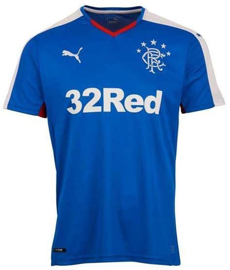 New Rangers Strip 201516 Glasgow Rangers Puma Home Top