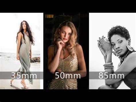 mm lens choices  portraiture