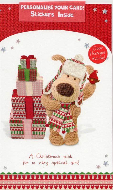 Boofle Personalised Kids Christmas Card Bedroom Door