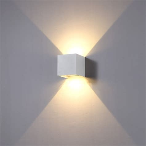lwa288 6 watt led outdoor up and down light outdoor wall