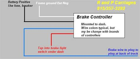 electric trailer brakes general installation   p