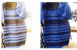 robes bleu et noir With robe bleu et noir illusion