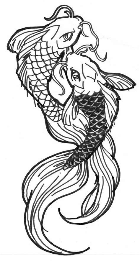 drawn fish draw pencil   color drawn fish draw