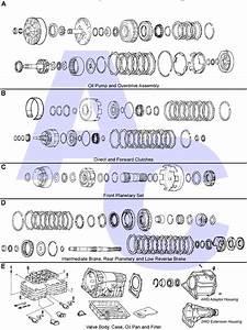 A340 Automatic Transmission Parts Catalogue