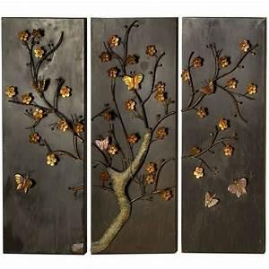 Wanddeko Baum Metall : 33 verbl ffende ideen f r wanddeko aus metall ~ Whattoseeinmadrid.com Haus und Dekorationen