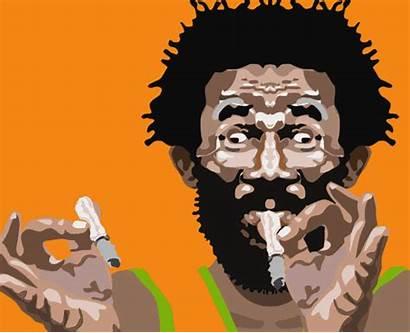 Weed Scratch Lee Perry Jamaica Reggae Stereotypes