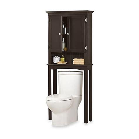 fairmont  standing space saver cabinet  espresso bed bath