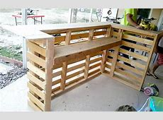 A Complete Guide to Make a Pallet Bar Decoration Channel