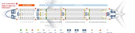 Seating Chart Boeing 777 300er Air Canada