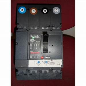 Schneider Electric Nsx 250f 200amp Four Pole Mccb