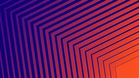 2560x1440 Geometric Shapes Orange 1440p Resolution