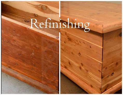 refinishing  furniture cedar furniture cedar chest