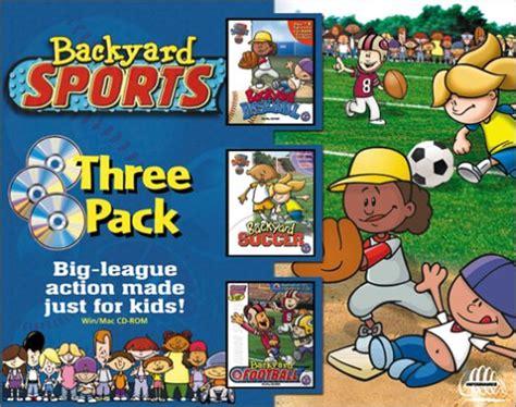 backyard football characters backyard sports outdoor goods