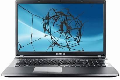 Laptop Screen Electronics Samsung Broken Computer Repair