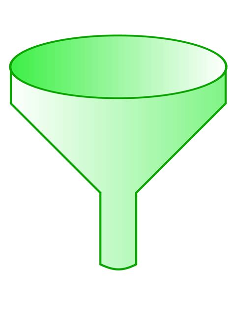 Funnel Clipart Clipart Green Funnel