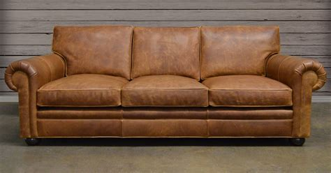 American Made Leather Sofas Baci Living Room
