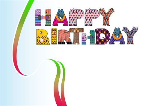 free happy birthday template happy birthday design backgrounds presnetation ppt