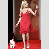 Natalie Morales Red Dress | 405 x 600 jpeg 23kB