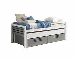 photos canape lit gigogne conforama With tapis chambre enfant avec canapé lit fly