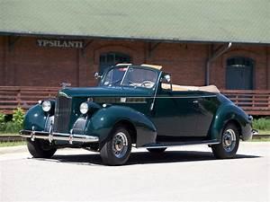 1940 Packard 120 Convertible Coupe retro d wallpaper ...