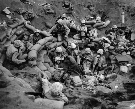 Photos Of Marines At Battle Of Iwo Jima Pacific Ww2