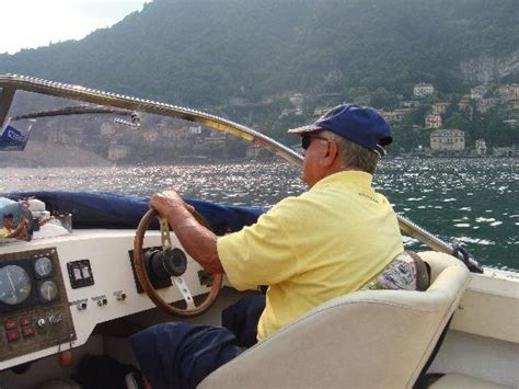 To Drive A Boat Or by Our Lovely Boat Driver Picture Of Cernobbio Lake Como