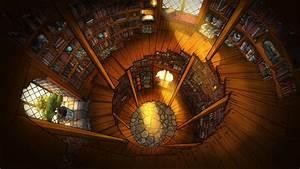 Wizard, Tower, Interior, By, David, Abouaf