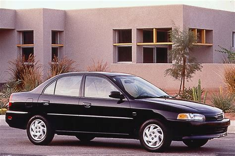 Mitsubishi 4 Door Cars by 1997 02 Mitsubishi Mirage Consumer Guide Auto