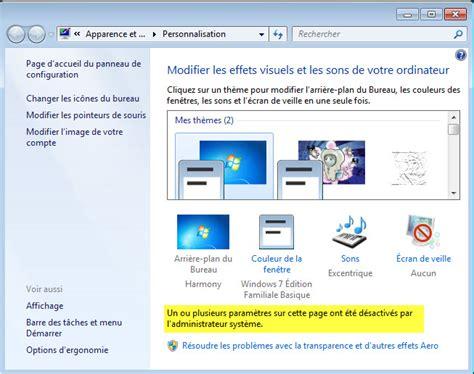 bureau windows 7 sur windows 8 interdire le changement de l 39 arrière plan du bureau sous
