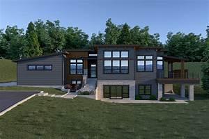Contemporary, Style, House, Plan, 7434, Contemporary, 211
