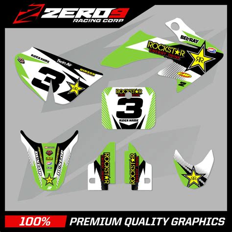 Crf50 stickers decals graphics kits and black plastic fenders for honda crf 50 xr50 sdg dirt pit bike. HONDA CRF 50 MOTOCROSS GRAPHICS MX GRAPHICS KIT DECAL KIT ...
