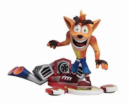 Hoverboard Crash Bandicoot Neca Figures Toys Action