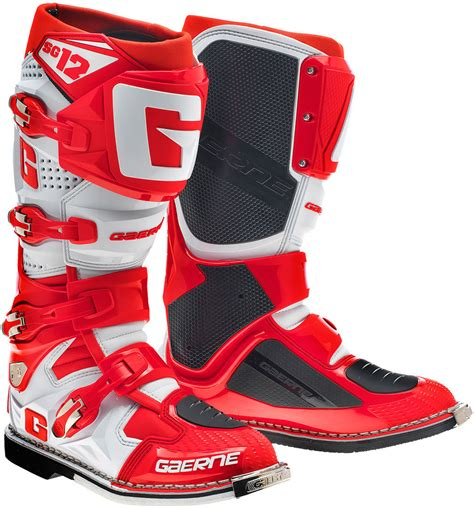 Gaerne Sg 12 Motocross Boots Offroad Red Clearance Sale