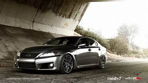 Lexus Is-f On 20 U0026quot  Ace Mesh-7 Wheels    Rims