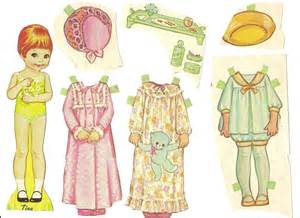 Paper Doll Cut Outs